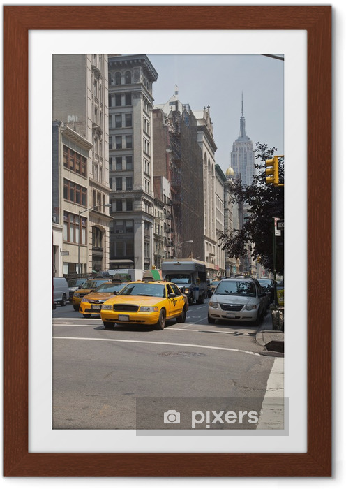 Poster i Ram New York - Destinationer