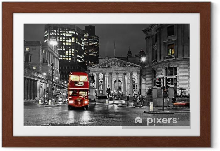 Poster en cadre Royal Exchange, Londres -