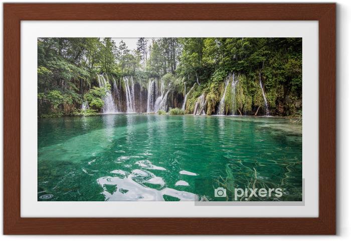 Plakat w ramie Plitvicka Jezera National Park (Chorwacja) - Tematy