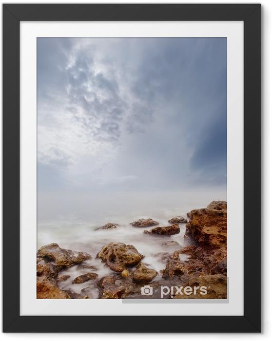 Ingelijste Poster Zee - Landschappen