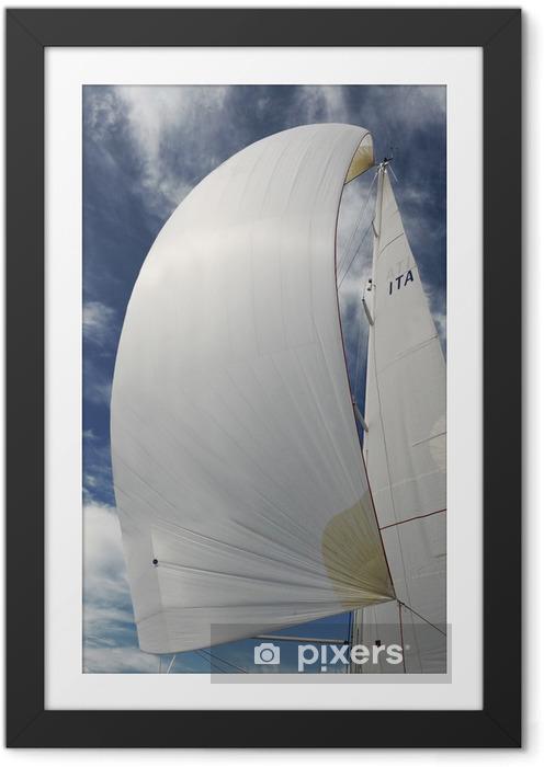 Poster en cadre Voile - voile - bateau - Bateaux