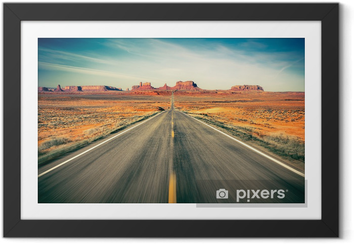 Poster i Ram Monument valley -