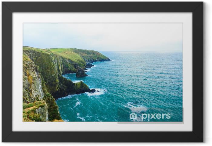 Poster en cadre Paysage irlandais. côte atlantique de Cork Comté de côte, Irlande - Thèmes