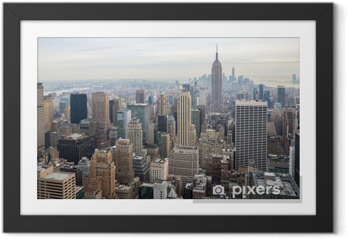 Plakat w ramie Panoramę Nowego Jorku - Tematy