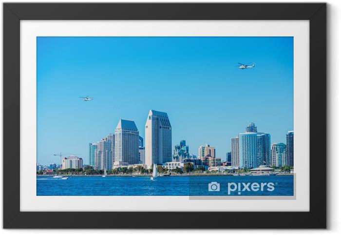 Poster en cadre San Diego Summer - Paysages urbains
