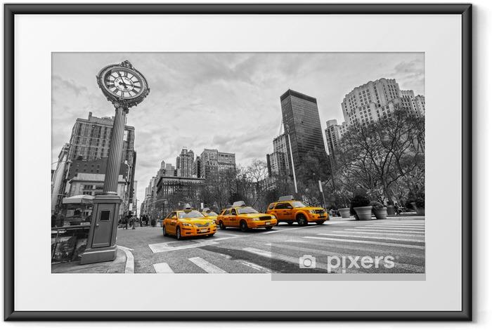 Poster en cadre Unis New York City -