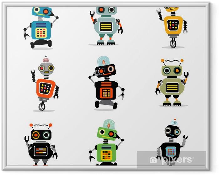 Obrazek w ramie Małe roboty ustawić 3 - Przeznaczenia
