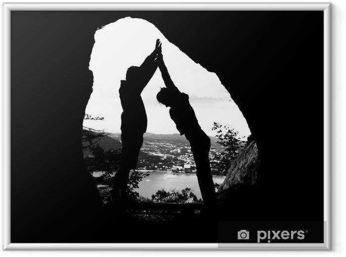 Image encadrée Grottes - Montagne
