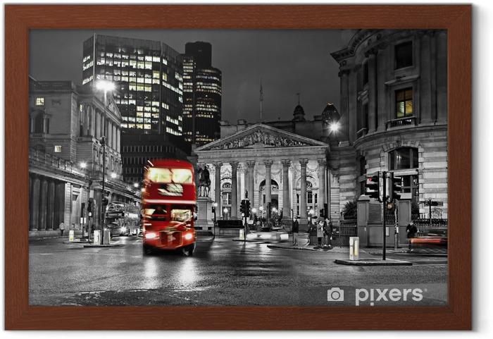 Lámina Enmarcada Royal Exchange, London -