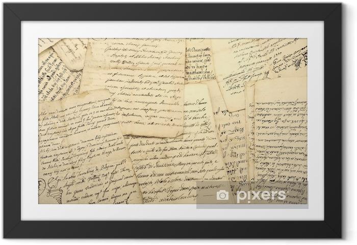 Fotografia com Moldura Manuscritos - Recursos Gráficos