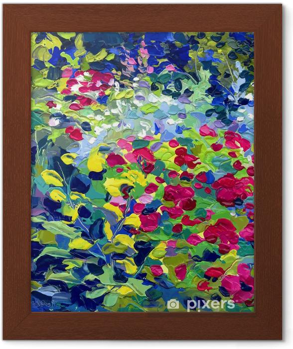 Poster en cadre Illustration vectorielle peinture à l'huile - Thèmes