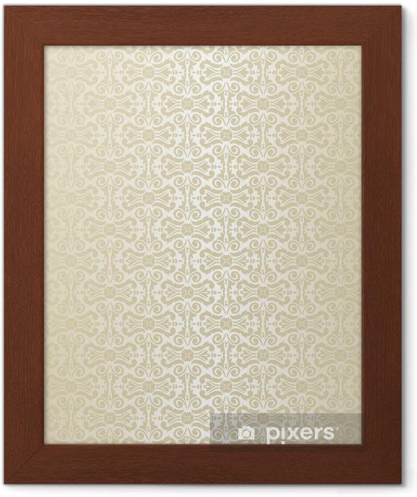 Plakat w ramie Tapety złota - Tła