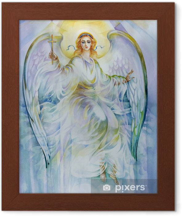 Painting Collection: Angel Framed Poster - Themes