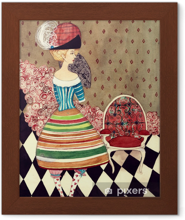 fairy lady Framed Poster - Fashion
