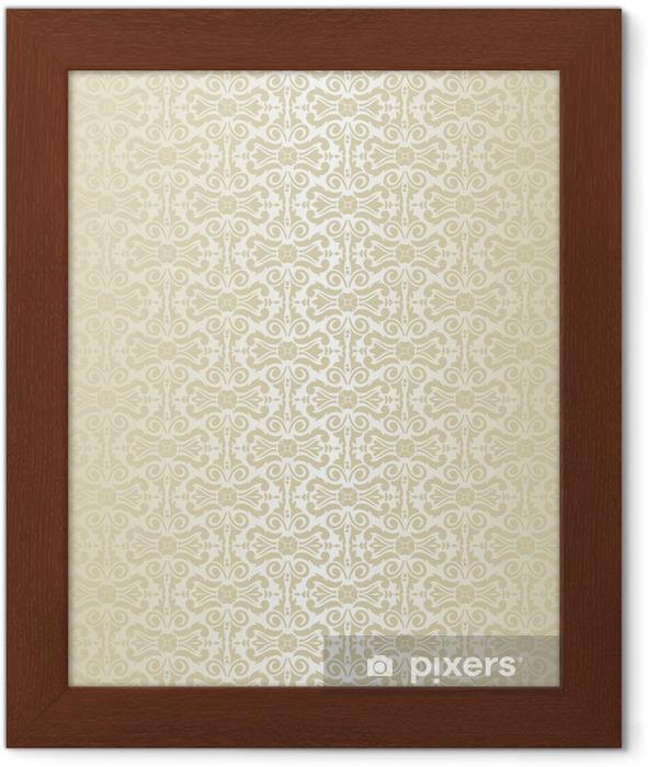 Gold - Wallpaper Framed Poster - Backgrounds
