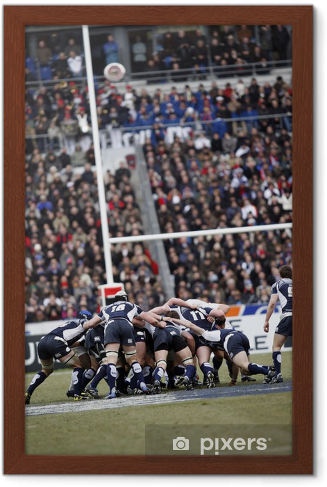 Rugby Framed Poster - Rugby