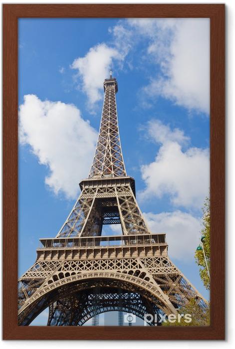 Innrammet Bilde Eiffeltarnet Naerbilde Frankrike Pixers Vi Lever For Forandring
