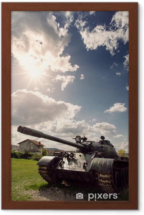 Plakat w ramie Zbiornik armii - Inne uczucia
