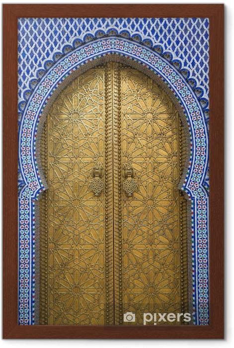 Plakat w ramie Pałac królewski w Fez, Maroko - Tematy