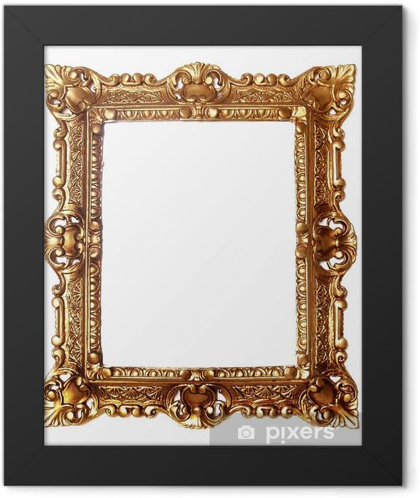 Plakat w ramie Antyczny barok ramka - Sztuka i twórczość