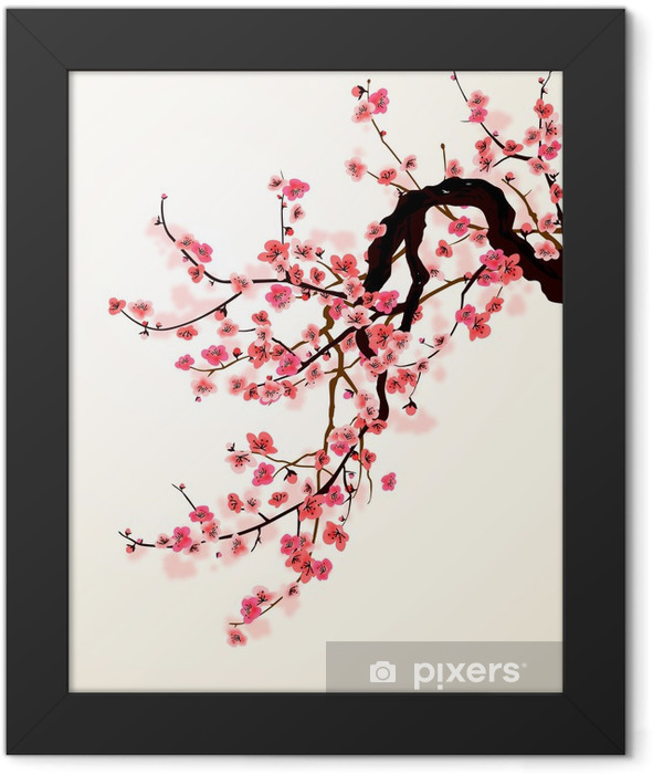 Sakura Framed Poster - Styles