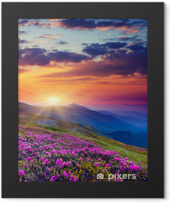 mountain landscape Framed Poster - Themes