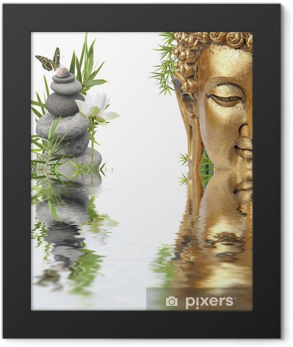 Poster en cadre Reflets de Bouddha - Bouddhisme