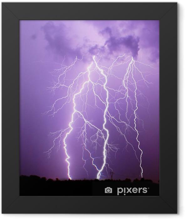 Thunderstorm Framed Poster - Natural Disasters