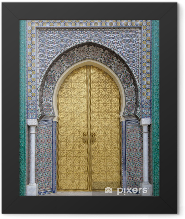 Ancient doors, Morocco Framed Poster - iStaging
