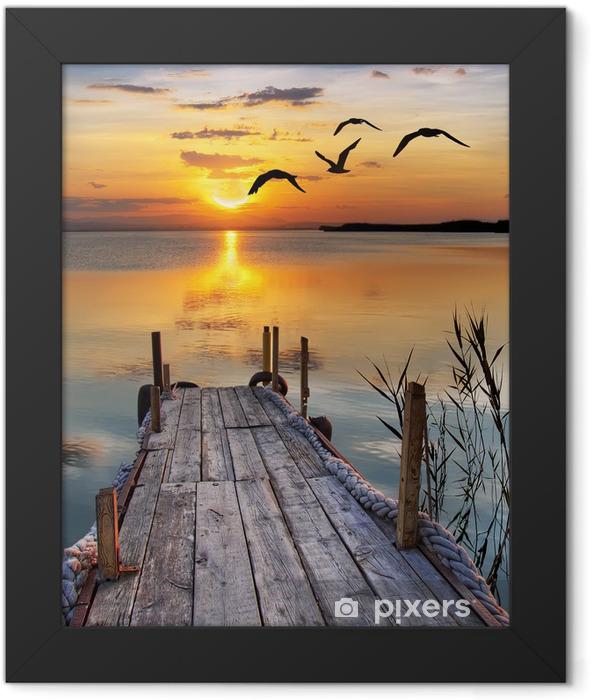 un rincón para soñar Framed Poster -