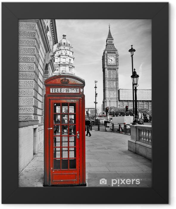 Plakat w ramie London-Impression -
