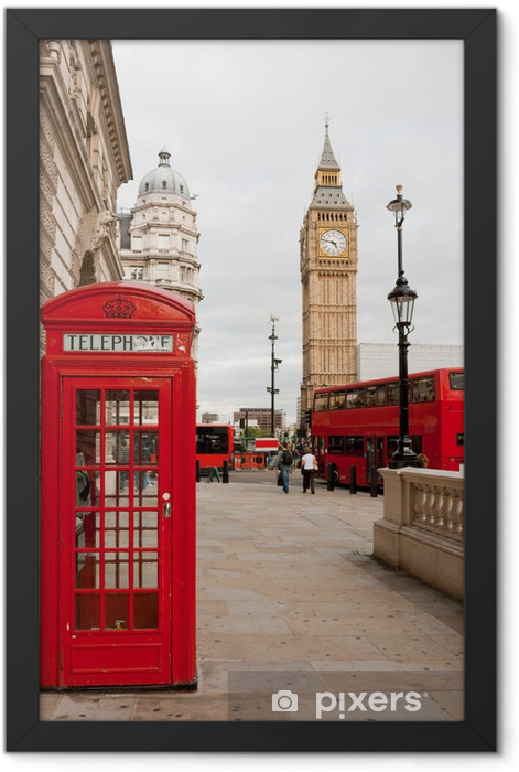 London, England Framed Poster - Themes