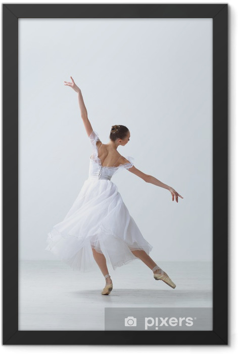 the dancer Framed Poster - Ballet