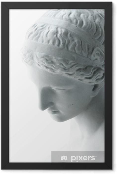 Poster en cadre Statue blanche de Vénus - Bâtiments publics