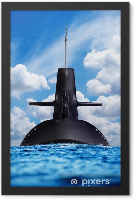 Poster en cadre L'armée et cette arme sur terre, mer et air - Thèmes