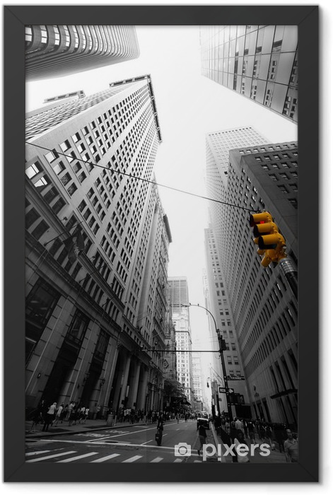 Plakat w ramie Aleja nowa yorkaise -