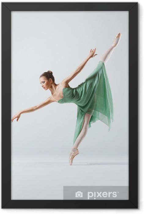 the dancer Framed Poster - Themes