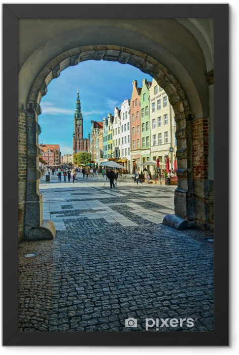 Gdansk-Old-Town-6 Framed Poster - Themes