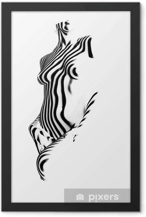 Plakat w ramie Zebra - Tematy