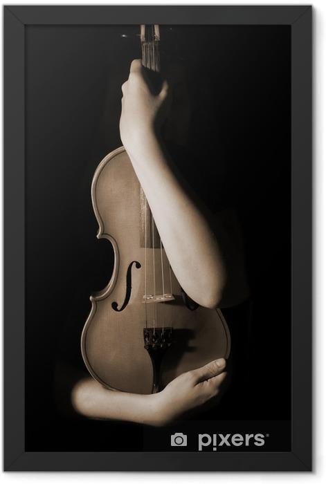 Plakat w ramie Old Violin - Tematy