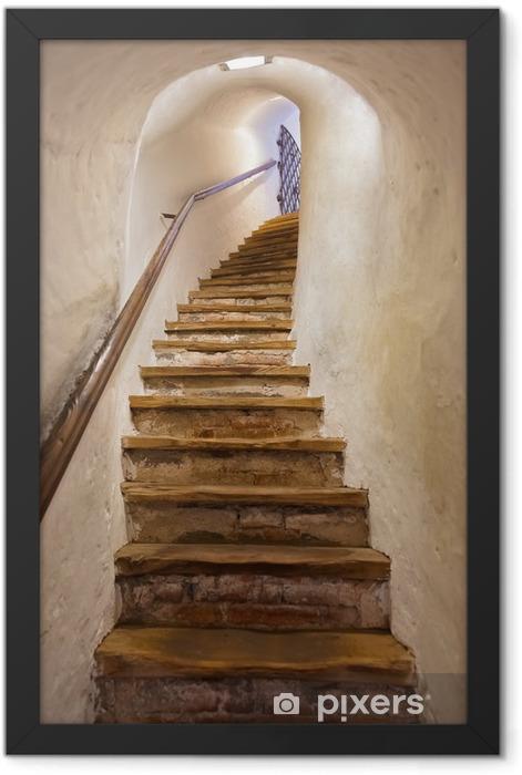 Poster en cadre Escaliers dans le château de Kufstein - Autriche - Styles