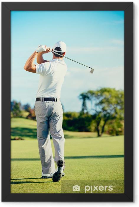 Golf Framed Poster - Themes