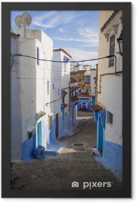 Poster en cadre Chefchaouen, Maroc - Afrique