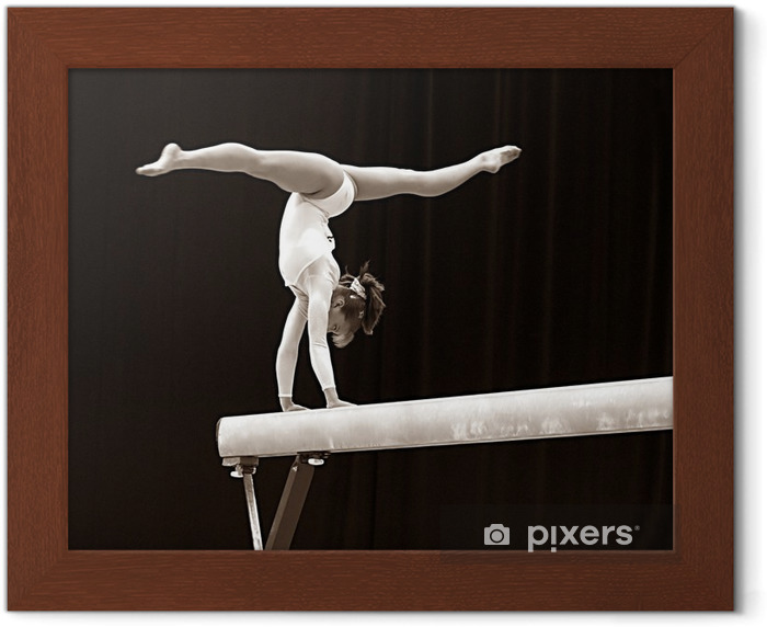 gymnast - 2 Framed Poster - Individual Sports