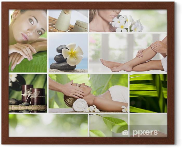 collage Framed Poster - Destinations