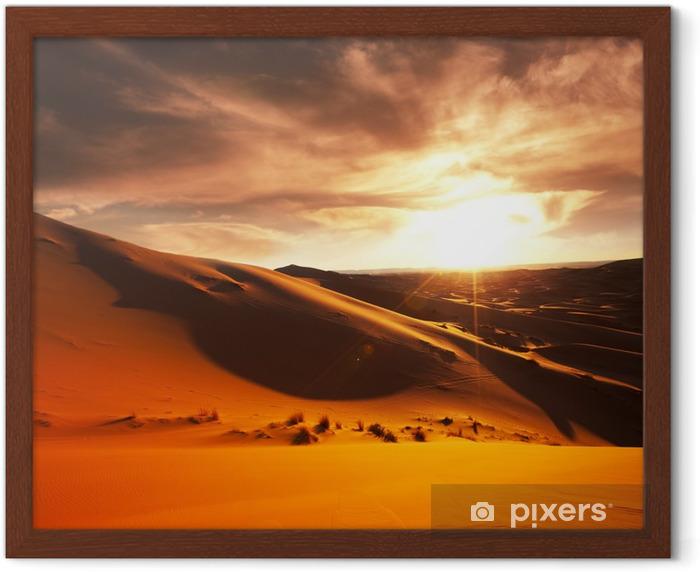 Desert Framed Poster - Themes