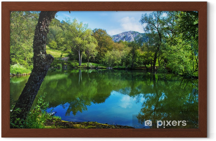 Mountain Framed Poster - Themes