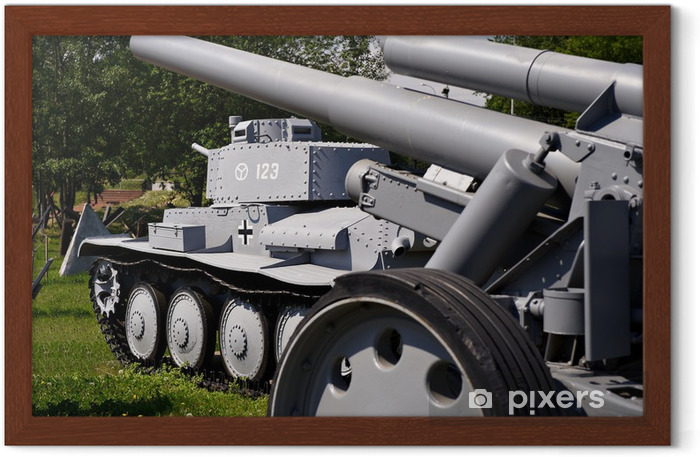 Poster en cadre Char léger armée Wehrmacht CKD Praque 38 (T) Tchécoslovaquie - Violence et criminalité