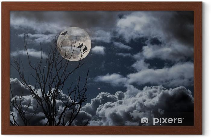 Full moon Framed Poster - Themes