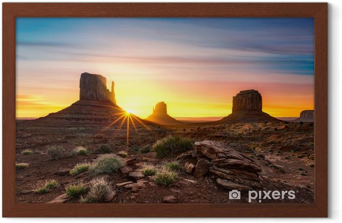 Monument Valley Framed Poster - America